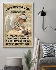 German Shepherd - Once upon a time  11x17 Poster lifestyle-poster-1