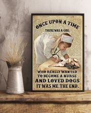 German Shepherd - Once upon a time  11x17 Poster lifestyle-poster-3
