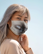 Amazing Siamese Cloth face mask aos-face-mask-lifestyle-19