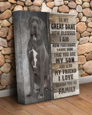 Great Dane - You are my son 11x14 Gallery Wrapped Canvas Prints aos-canvas-pgw-11x14-lifestyle-front-18