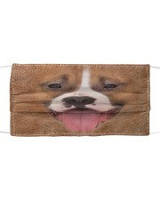 Amazing American Staffordshire Terrier Cloth face mask front