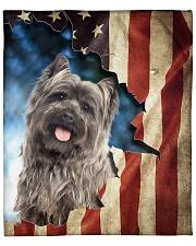 """Blanket Dog cairn Terrier Fleece Blanket - 50"""" x 60"""" front"""