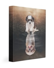 Shih Tzu- Reflection 11x14 Gallery Wrapped Canvas Prints front