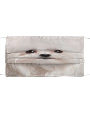Amazing Maltese Cloth face mask front
