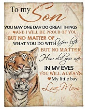 """To my son - You'll always my little boy Small Fleece Blanket - 30"""" x 40"""" front"""