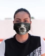 Amazing French Bulldog Cloth face mask aos-face-mask-lifestyle-03