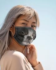Amazing French Bulldog Cloth face mask aos-face-mask-lifestyle-19