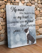 French bulldog - My mind still talk to you 11x14 Gallery Wrapped Canvas Prints aos-canvas-pgw-11x14-lifestyle-front-18