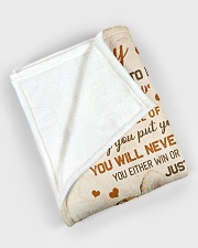 """To my son - I'll love you for the rest of my life Large Fleece Blanket - 60"""" x 80"""" aos-coral-fleece-blanket-60x80-lifestyle-front-08"""