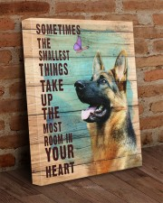 German Shepherd - In your heart 16x20 Gallery Wrapped Canvas Prints aos-canvas-pgw-16x20-lifestyle-front-09