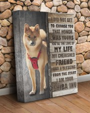 Shiba Inu - Custom smaller 11x14 Gallery Wrapped Canvas Prints aos-canvas-pgw-11x14-lifestyle-front-18