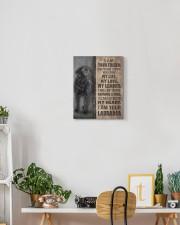 Black Labrador-canvas-I am your friends 11x14 Gallery Wrapped Canvas Prints aos-canvas-pgw-11x14-lifestyle-front-03