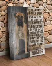 English mastiff - Before I met you 11x14 Gallery Wrapped Canvas Prints aos-canvas-pgw-11x14-lifestyle-front-18