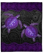"""I love turtles Fleece Blanket - 50"""" x 60"""" front"""