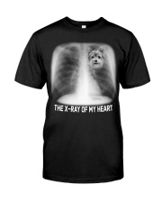 Yorkshire terrier - The X ray of my heart Classic T-Shirt front