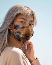Amazing Airedale Terrier Cloth face mask aos-face-mask-lifestyle-19