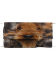 Amazing Airedale Terrier Cloth face mask front