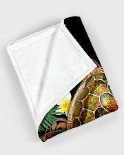 "I freaking love turtles Large Fleece Blanket - 60"" x 80"" aos-coral-fleece-blanket-60x80-lifestyle-front-08"