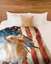 """Beautiful Chihuahua Large Fleece Blanket - 60"""" x 80"""" aos-coral-fleece-blanket-60x80-lifestyle-front-02"""