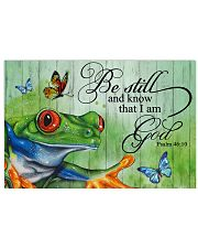 I love frogs 36x24 Poster front