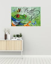 I love frogs 36x24 Poster poster-landscape-36x24-lifestyle-01