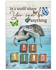 Turtles - Be kind 24x36 Poster front