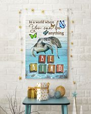 Turtles - Be kind 24x36 Poster lifestyle-holiday-poster-3