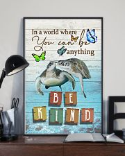 Turtles - Be kind 24x36 Poster lifestyle-poster-2