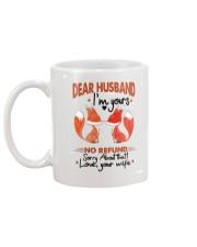 Dear Husband - I'm yours Mug back