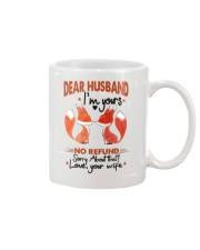 Dear Husband - I'm yours Mug front