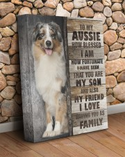 Aussie - You are my son 11x14 Gallery Wrapped Canvas Prints aos-canvas-pgw-11x14-lifestyle-front-18