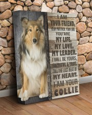 Collie - I am your friend 11x14 Gallery Wrapped Canvas Prints aos-canvas-pgw-11x14-lifestyle-front-18