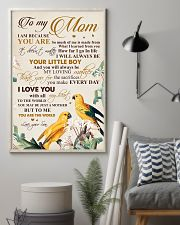 To my mom - You will always be your little boy 11x17 Poster lifestyle-poster-1