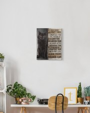 Black cat - Before I met you 11x14 Gallery Wrapped Canvas Prints aos-canvas-pgw-11x14-lifestyle-front-03
