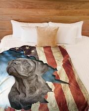 "Beautiful Cane Corso Large Fleece Blanket - 60"" x 80"" aos-coral-fleece-blanket-60x80-lifestyle-front-02"