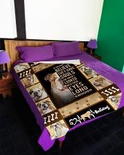 "English Bulldog - Look into their eyes Large Fleece Blanket - 60"" x 80"" aos-coral-fleece-blanket-60x80-lifestyle-front-01"