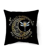 Dragonfly - Hello darkness  Indoor Pillow tile