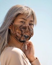 Amazing English Cocker Spaniel Cloth face mask aos-face-mask-lifestyle-19
