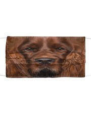 Amazing English Cocker Spaniel Cloth face mask front