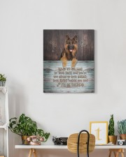 German Shepherd - I'll be there 16x20 Gallery Wrapped Canvas Prints aos-canvas-pgw-16x20-lifestyle-front-03