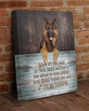 German Shepherd - I'll be there 16x20 Gallery Wrapped Canvas Prints aos-canvas-pgw-16x20-lifestyle-front-09