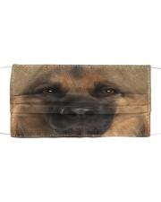 German Shepherd Cloth face mask front