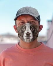 Amazing English Springer Spaniel Cloth face mask aos-face-mask-lifestyle-06