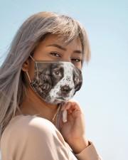 Amazing English Springer Spaniel Cloth face mask aos-face-mask-lifestyle-19