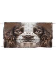 Amazing English Springer Spaniel Cloth face mask front