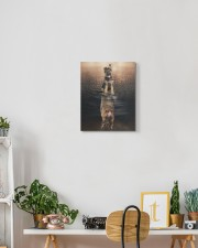 German Shepherd - I am not a baby 11x14 Gallery Wrapped Canvas Prints aos-canvas-pgw-11x14-lifestyle-front-03