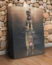 German Shepherd - I am not a baby 11x14 Gallery Wrapped Canvas Prints aos-canvas-pgw-11x14-lifestyle-front-18