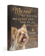 My mind still talks to you - Yorkshire 11x14 Gallery Wrapped Canvas Prints front