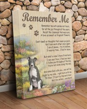 Pit bull - Remember me 11x14 Gallery Wrapped Canvas Prints aos-canvas-pgw-11x14-lifestyle-front-18