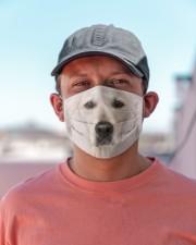 Amazing Golden retriver Cloth face mask aos-face-mask-lifestyle-06